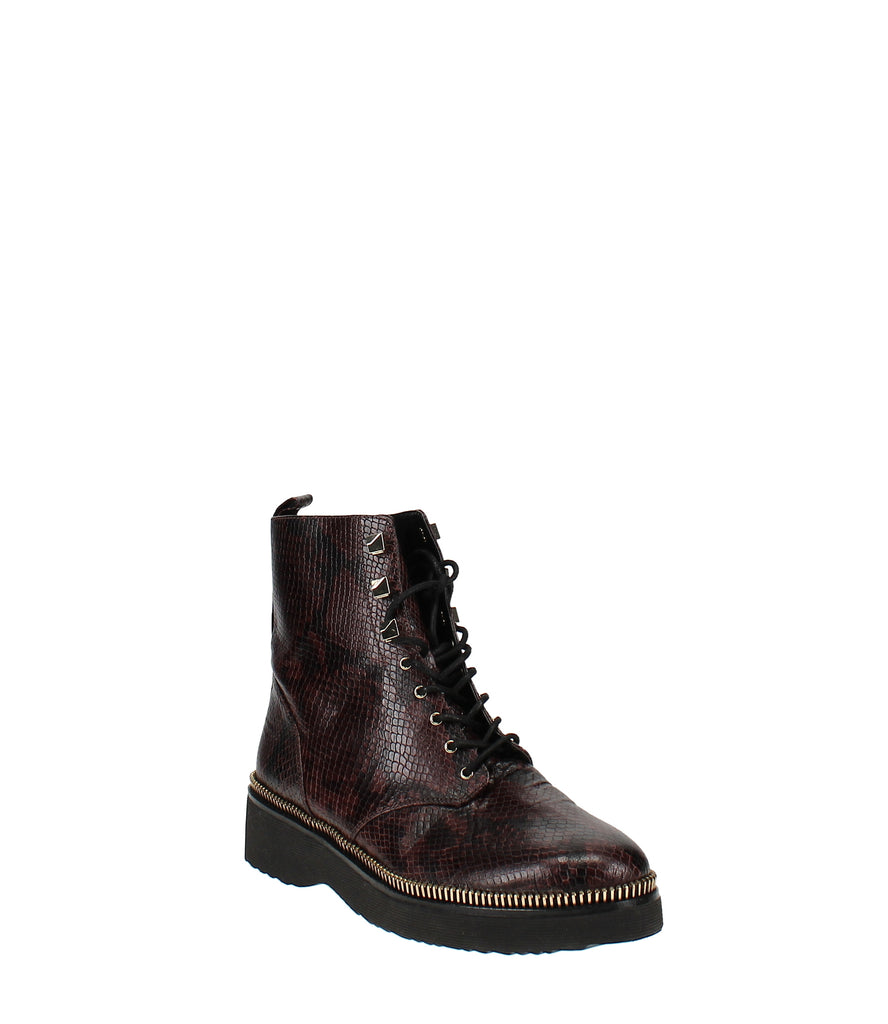 Yieldings Discount Shoes Store's Haskell Combat Boots by MICHAEL Michael Kors in Barolo