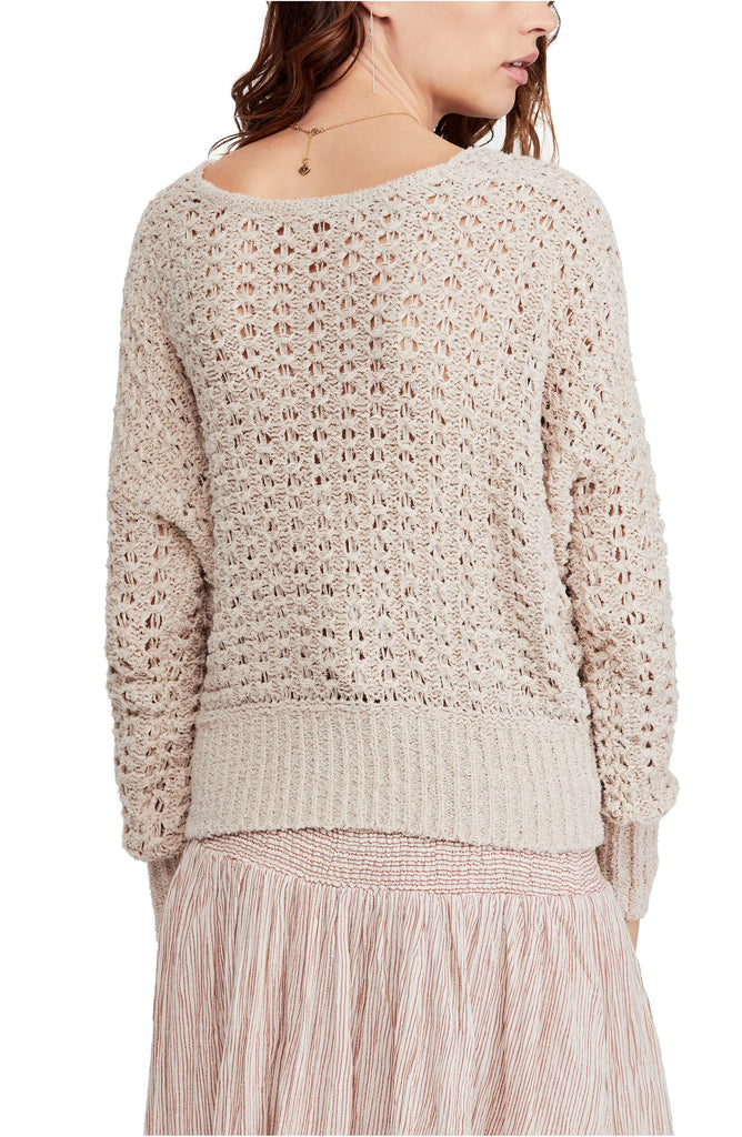 Free People | Best Of You Crochet Sweater