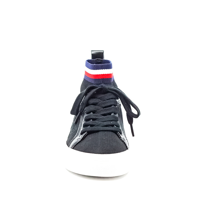 Yieldings Discount Shoes Store's Fether Sneakers by Tommy Hilfiger in Black