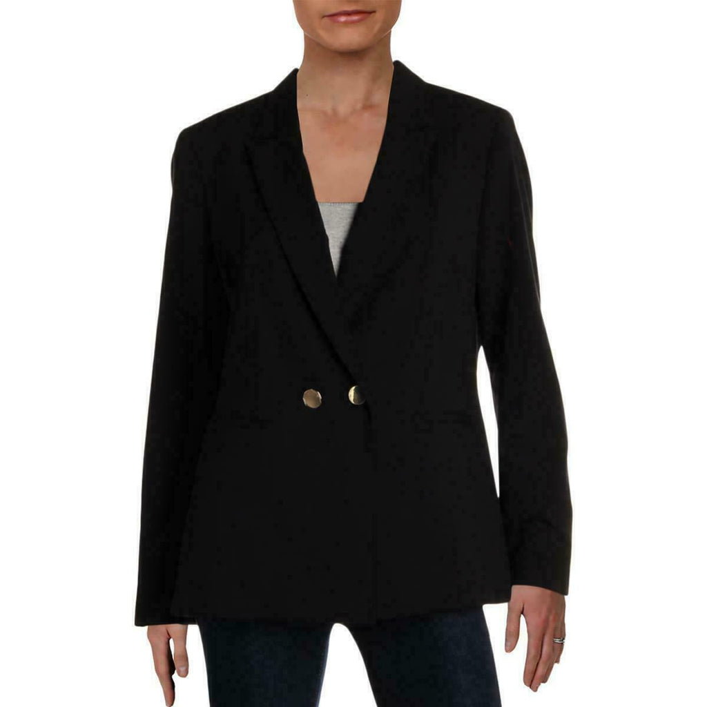 Yieldings Discount Clothing Store's Double-Breasted Blazer by Nine West in Black