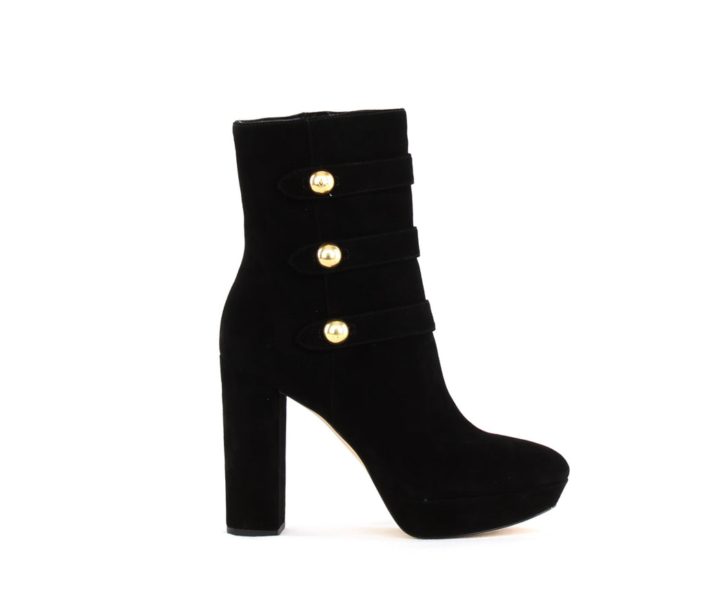 Yieldings Discount Shoes Store's Maisie Ankle Boot by MICHAEL Michael Kors in Black