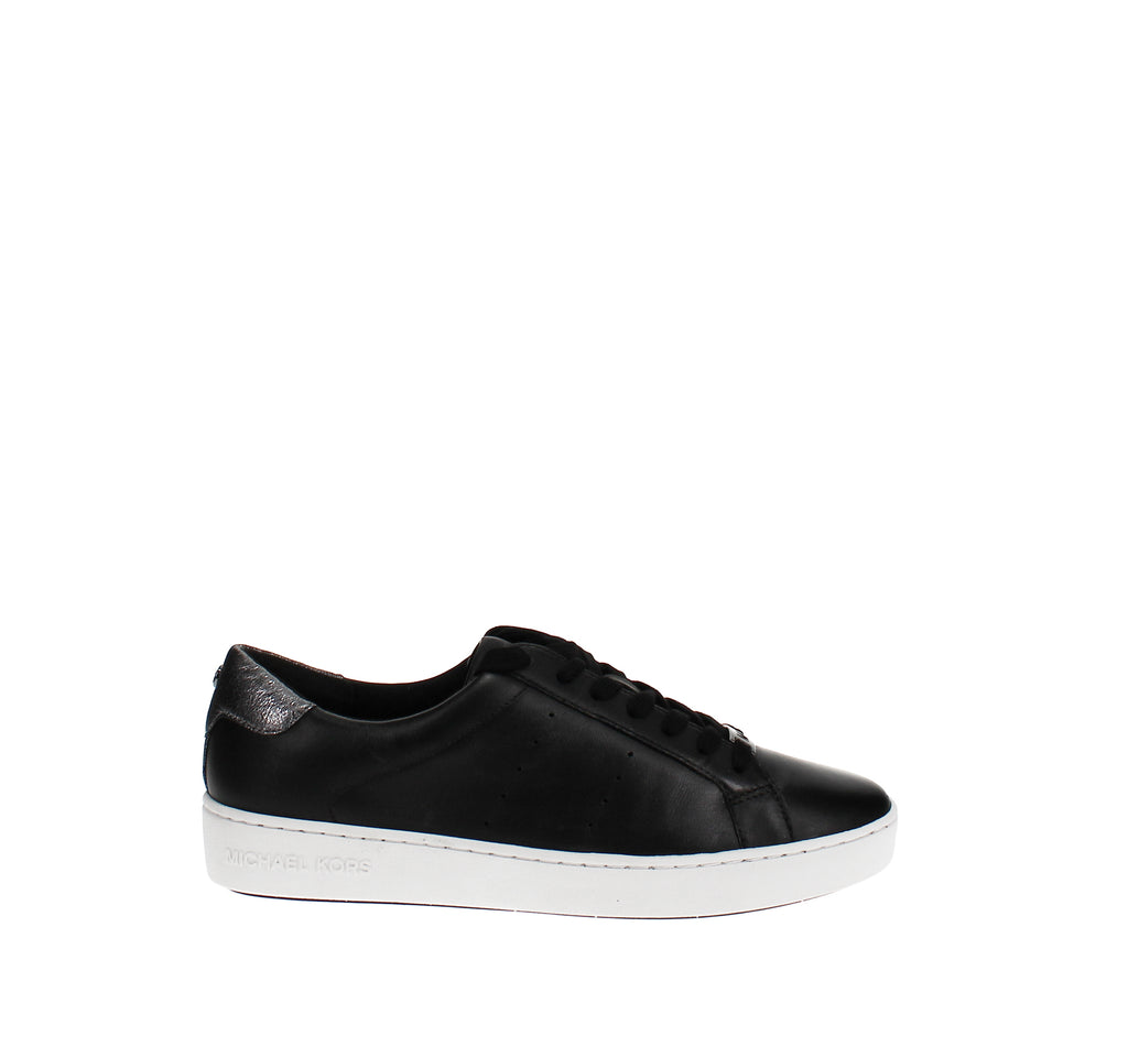 Yieldings Discount Shoes Store's Irving Lace-Up Sneakers by MICHAEL Michael Kors in Black