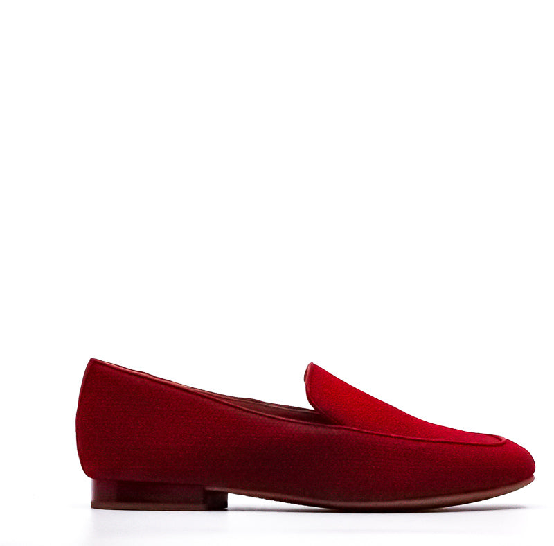 Yieldings Discount Shoes Store's Honey Nubuck Loafers by Donald Pliner in Brick