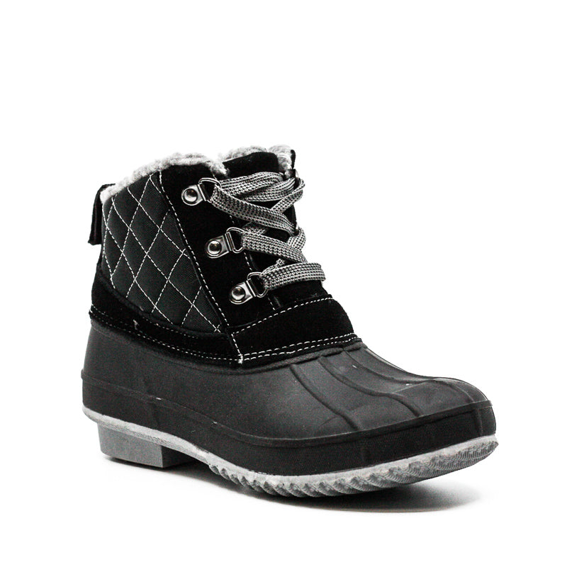 Yieldings Discount Shoes Store's Dixie Boots by Khombu in Black