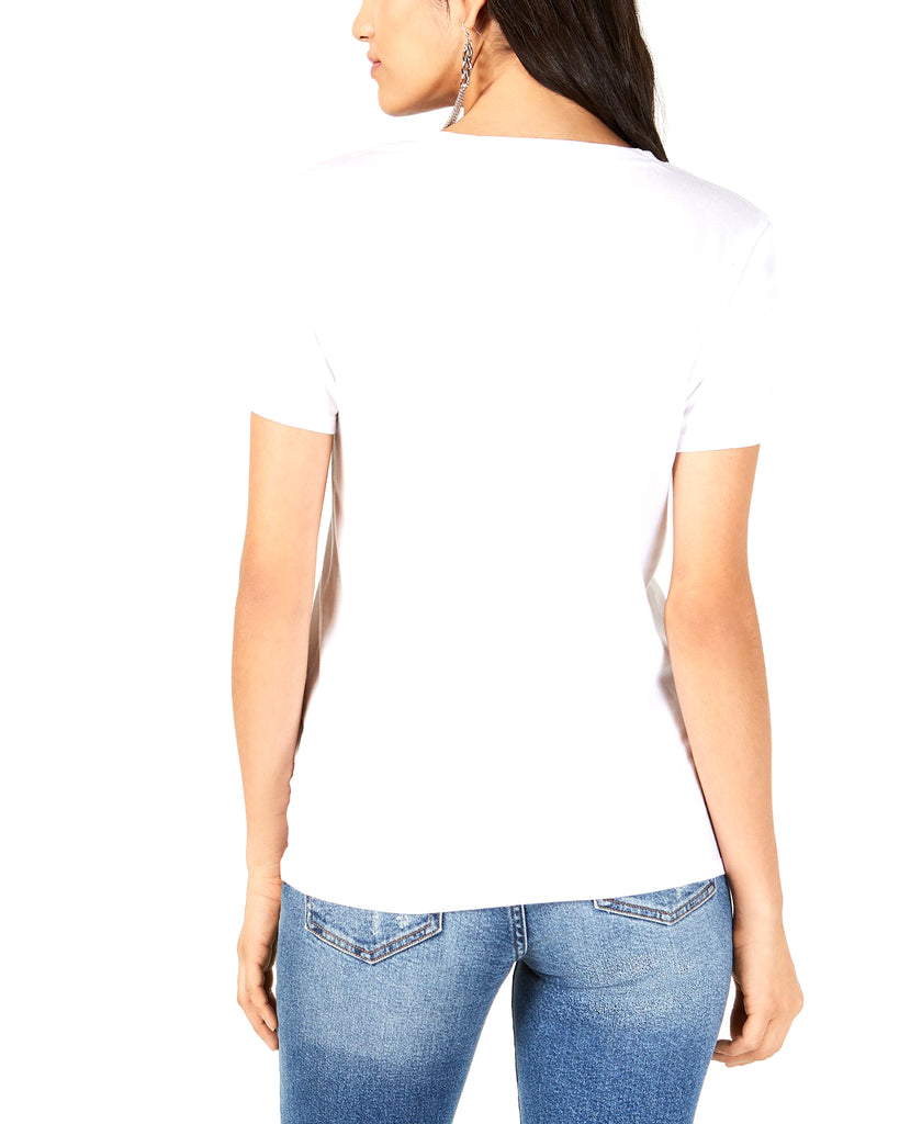 Yieldings Discount Clothing Store's True Match Graphic-Print Tee by Guess in Pure White