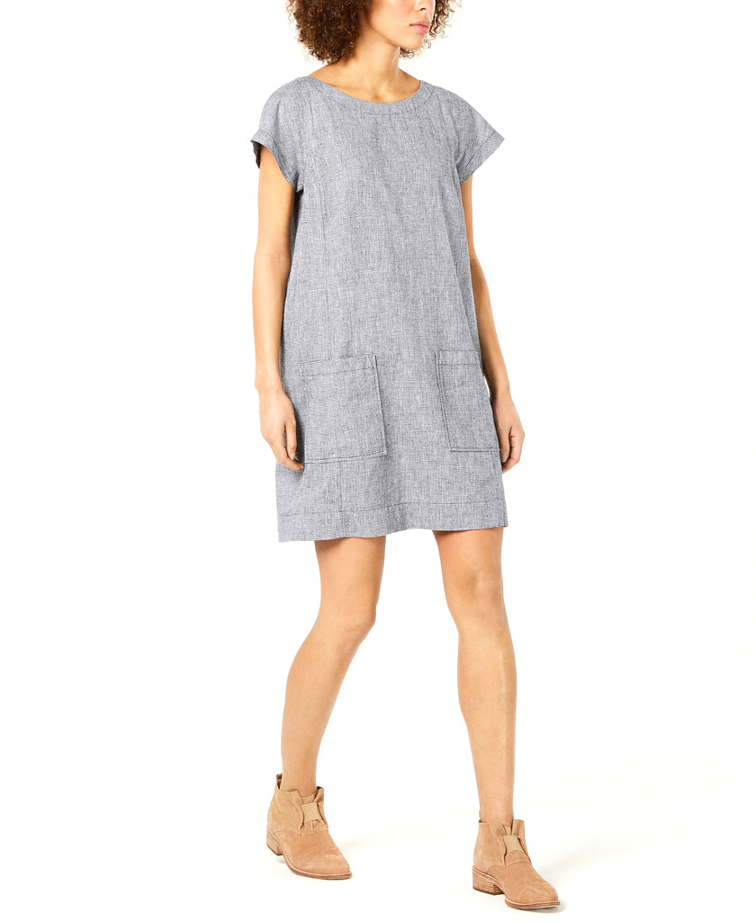 Eileen Fisher | Cap-Sleeve Shift Dress
