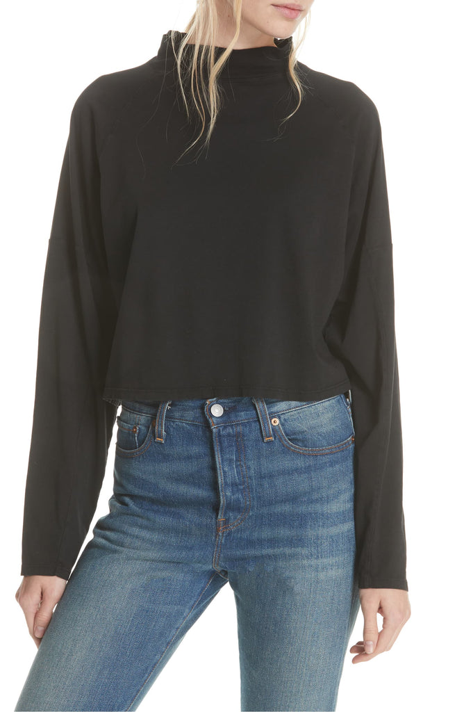 Yieldings Discount Clothing Store's Jackson Top by Free People in Black