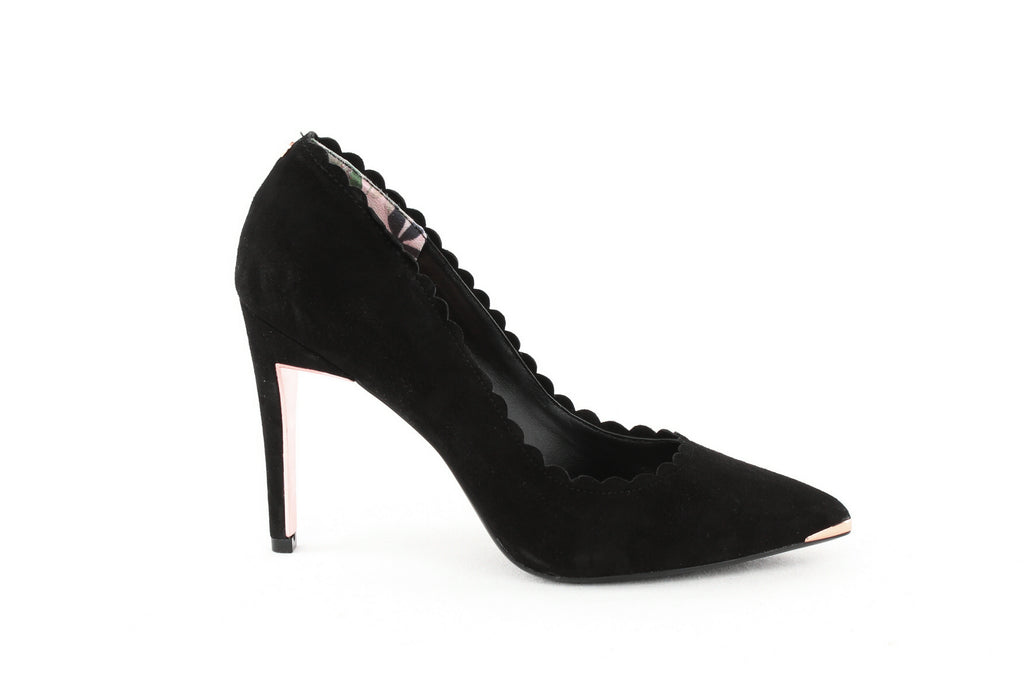 Yieldings Discount Shoes Store's Sloana Pointy Toe Pumps by Ted Baker London in Black