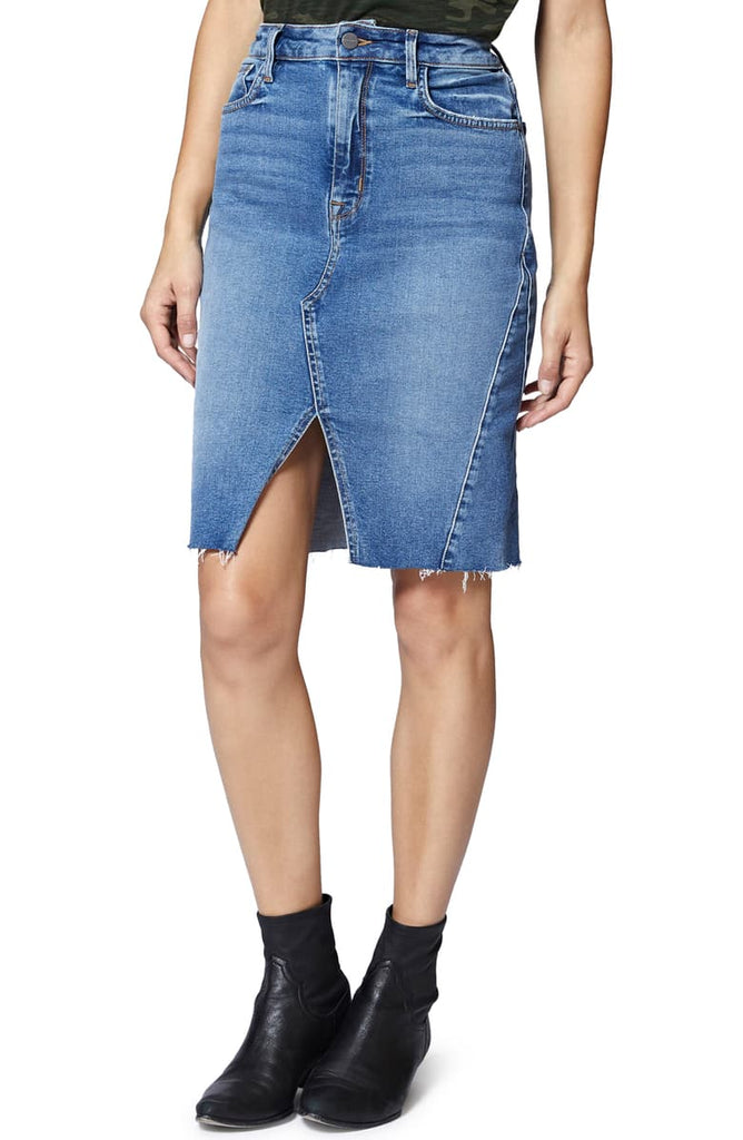 Sanctuary | Sia Front-Slit Denim Skirt