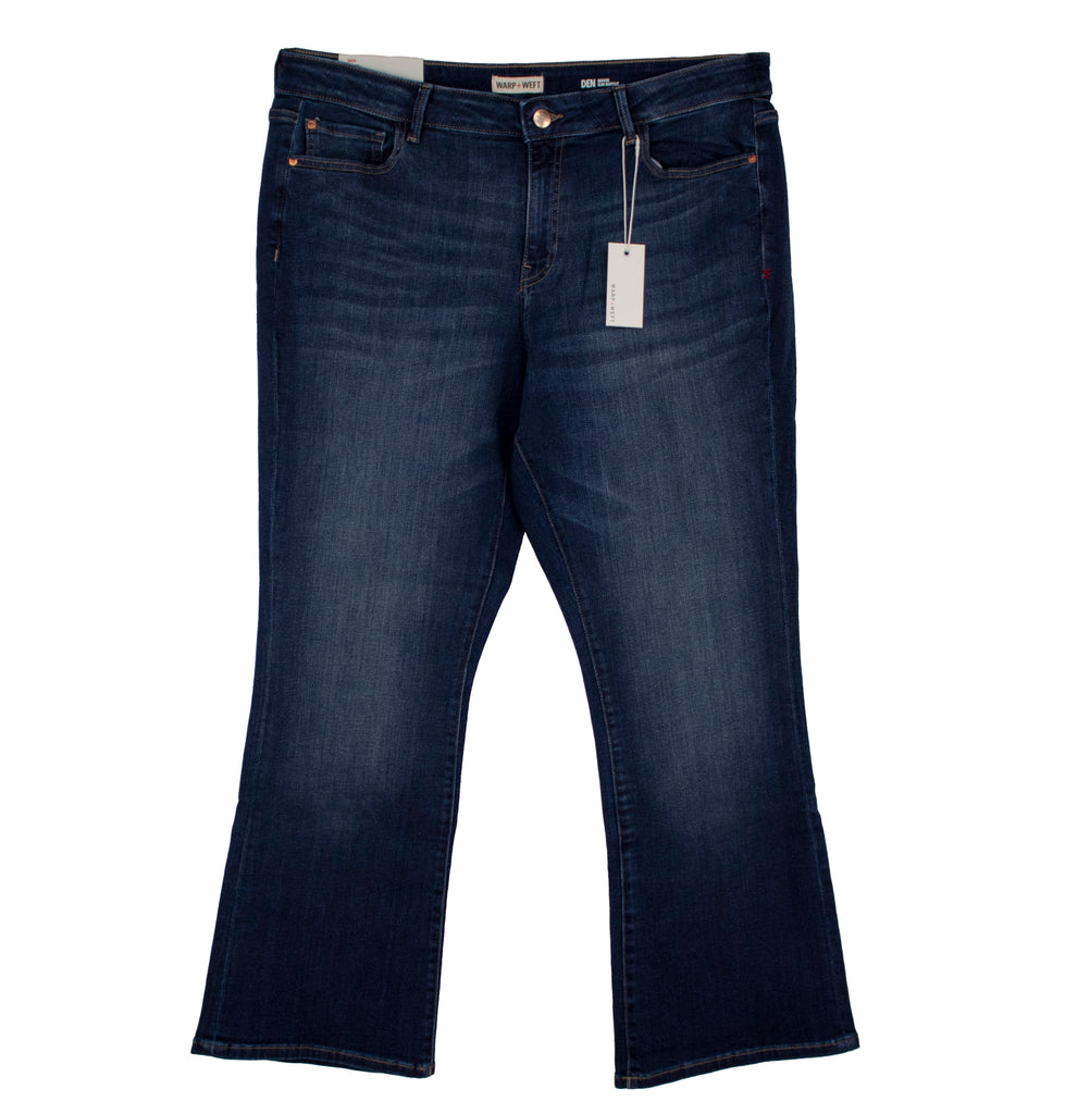 Yieldings Discount Clothing Store's DEN - Slim Bootcut Jeans by Warp + Weft in Wanderer