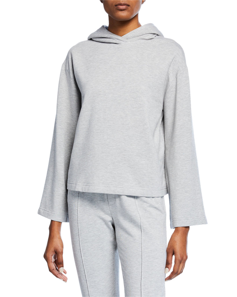 Yieldings Discount Clothing Store's Pullover Hoodie Sweatshirt by Enza Costa in Heather Gray