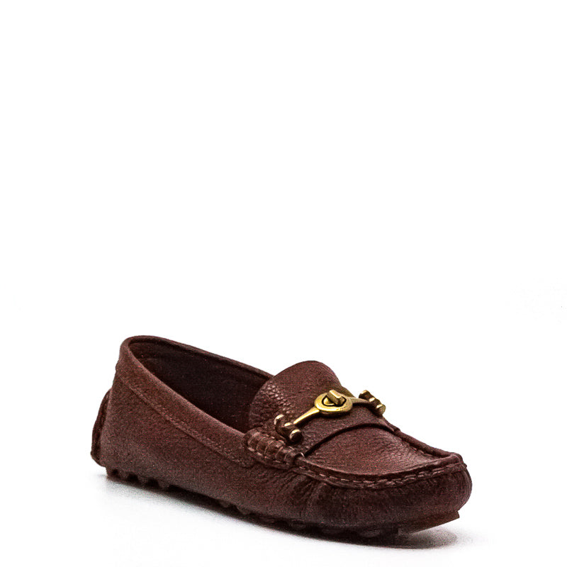 Yieldings Discount Shoes Store's Crosby Driver Loafers by Coach in Lion
