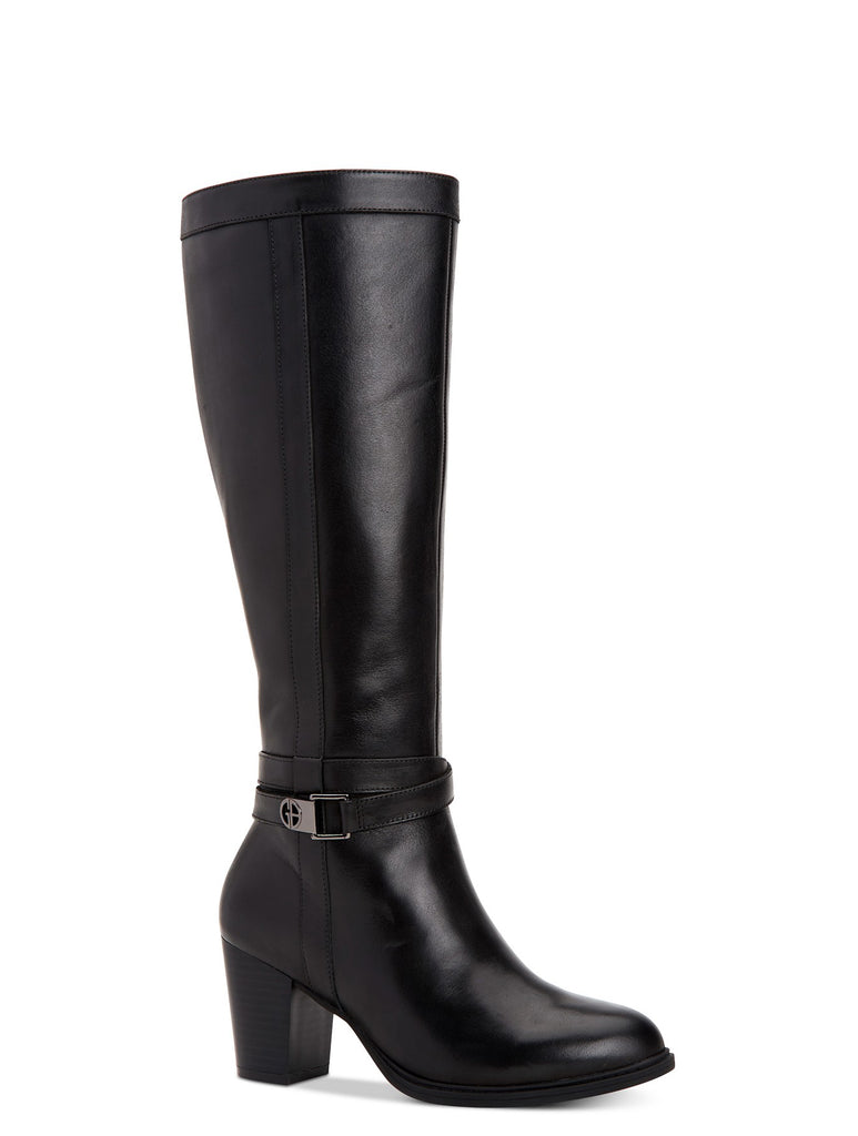 Yieldings Discount Shoes Store's Rozario Tall Boots by Giani Bernini in Black