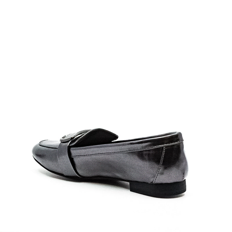 Yieldings Discount Shoes Store's Ceciliaa Pewter Flats by Alfani in Silver