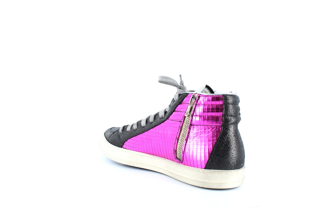 Yieldings Discount Shoes Store's Skate High Top Sneakers by P448 in Paillettes