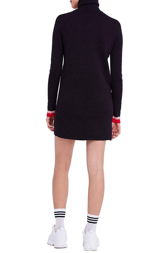 Yieldings Discount Clothing Store's Winter Break Sweater Dress by Free People in Black