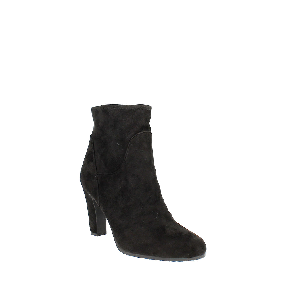 Yieldings Discount Shoes Store's Sia Ankle Booties by Sam Edelman in Black Suede