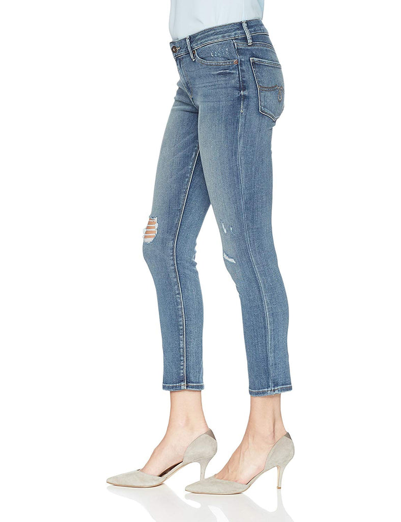 Yieldings Discount Clothing Store's Lolita Crop Jeans by Lucky Brand in Blue