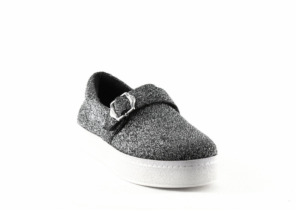 Yieldings Discount Shoes Store's Didi Strap Metallic Sneakers by Opening Ceremony in Silver