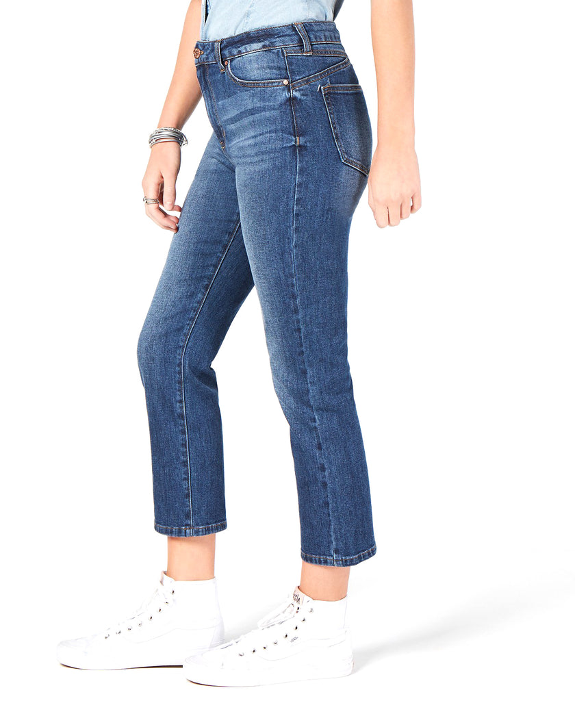 Yieldings Discount Clothing Store's Cropped Straight-Leg Jeans by Celebrity Pink in City
