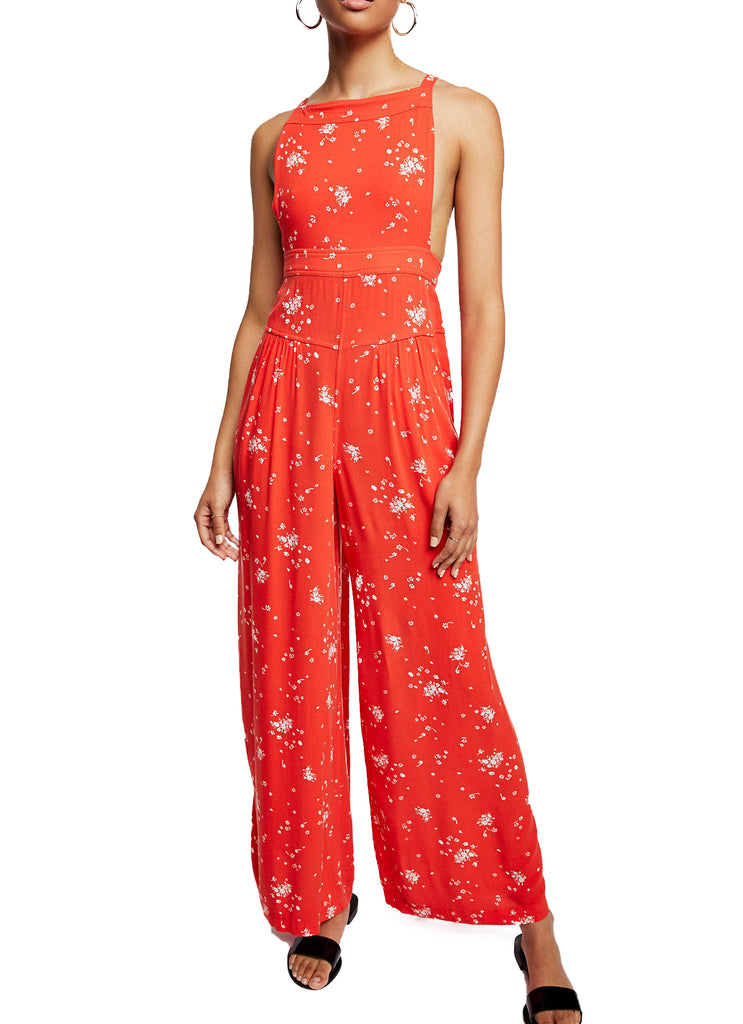 Free People | Sweet In The Streets Wide Leg Overall
