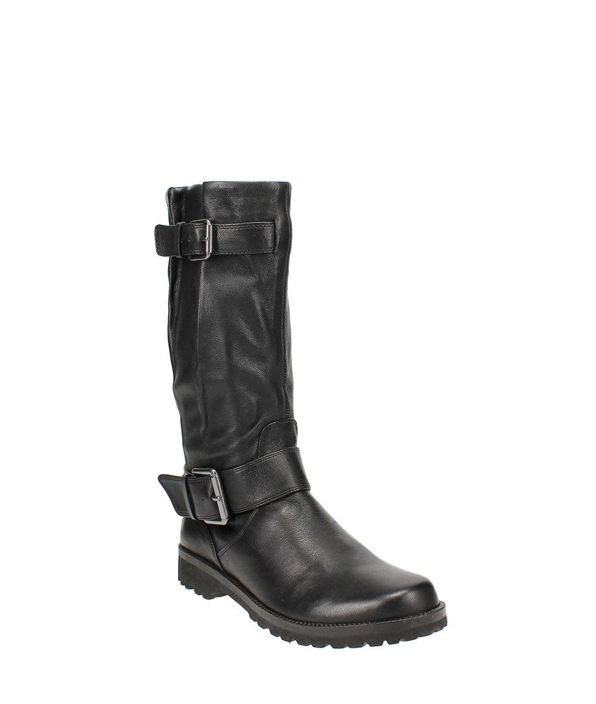 Yieldings Discount Shoes Store's Buckled Up Boots by Gentle Souls By Kenneth Cole in Black
