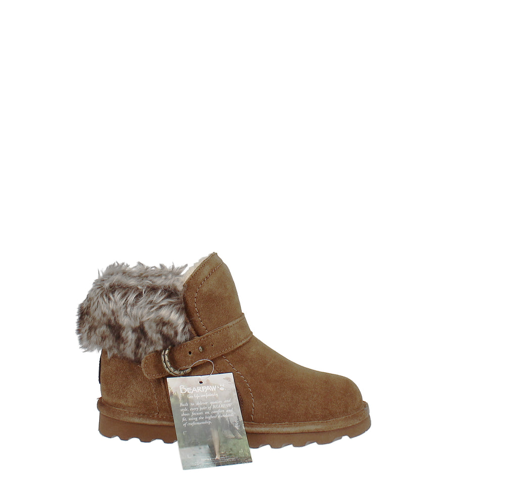 Yieldings Discount Shoes Store's Koko Winter Boots by Bearpaw in Hickory