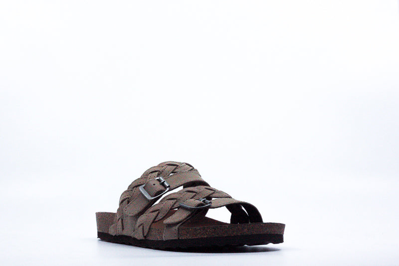 Yieldings Discount Shoes Store's Footbeds Holland Sandals by White Mountain in Grey