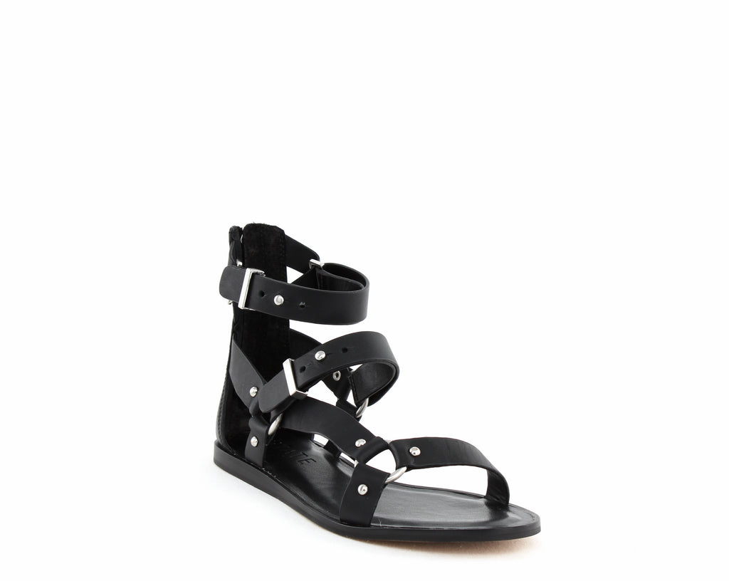 Yieldings Discount Shoes Store's Channdra Flat Sandal by 1.State in Black