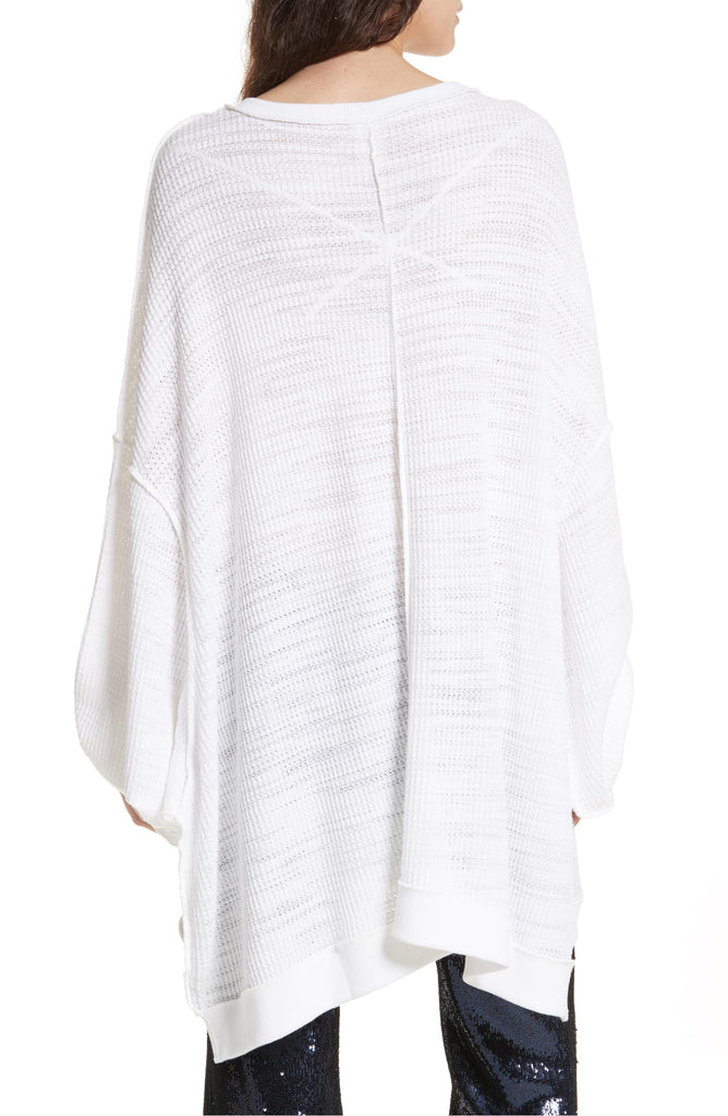 Yieldings Discount Clothing Store's Oversized Sweatshirt by Free People in White