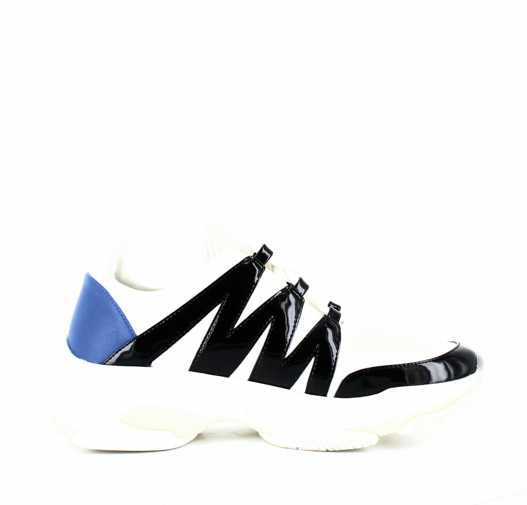 Yieldings Discount Shoes Store's Maximus Sneakers by Steve Madden in White Multi