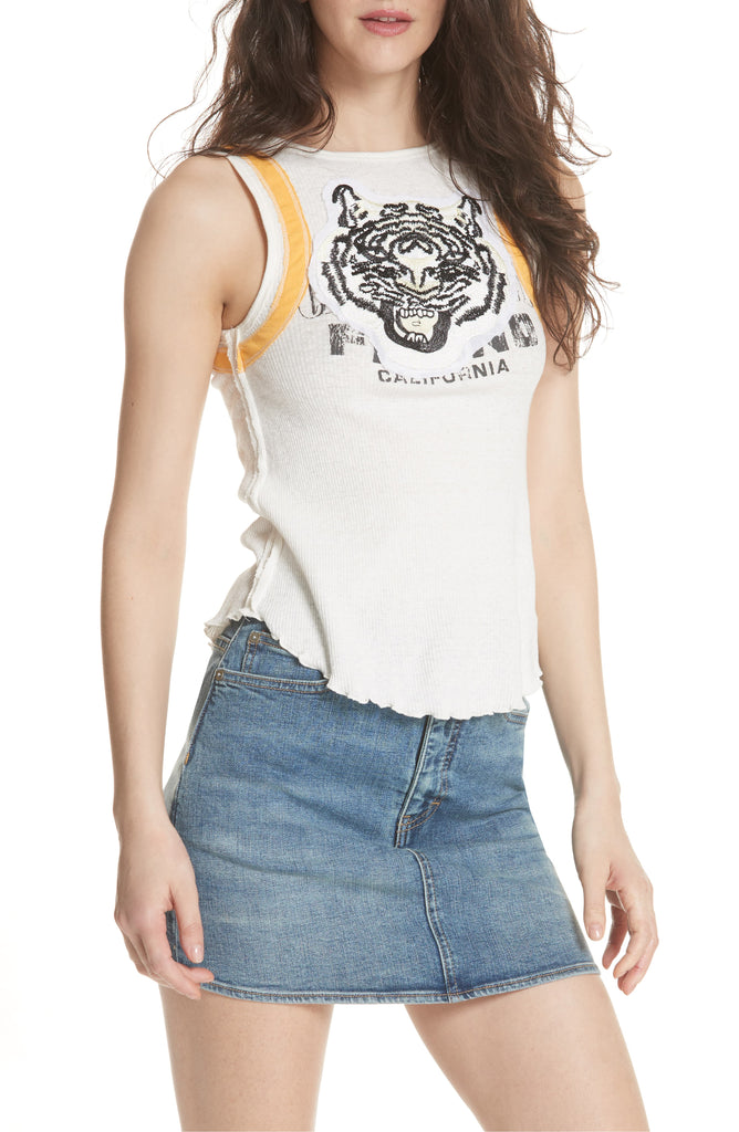 We The Free By Free People | Mini Moto Tiger Tank