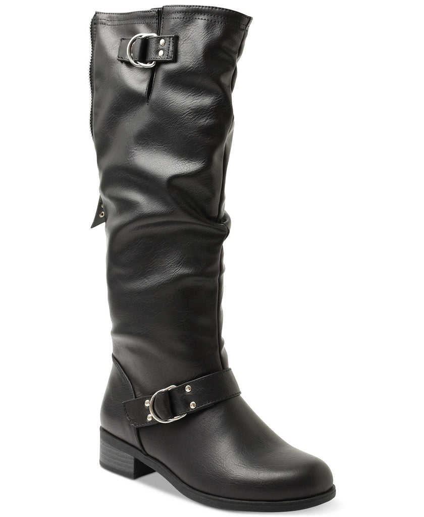 Yieldings Discount Shoes Store's Minkler Riding Boots by XOXO in Brown