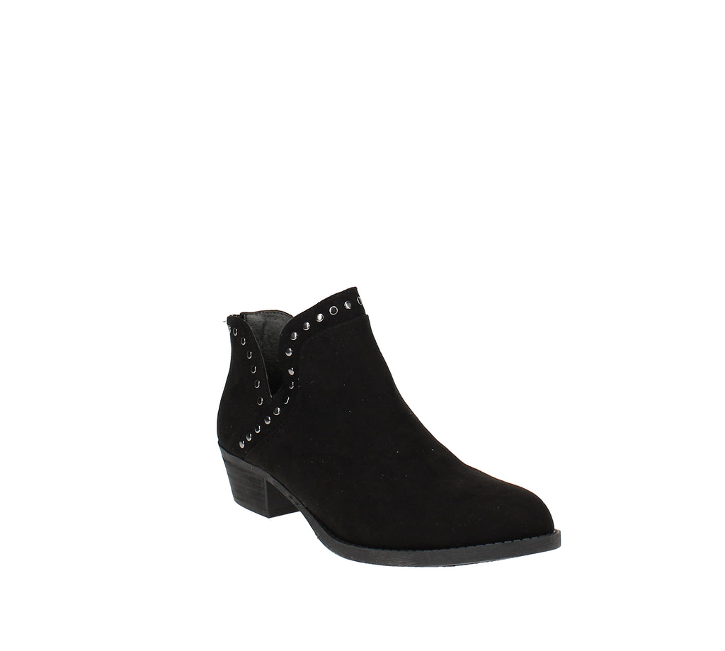 Yieldings Discount Shoes Store's Bailey Booties by Carlos by Carlos Santana in Black