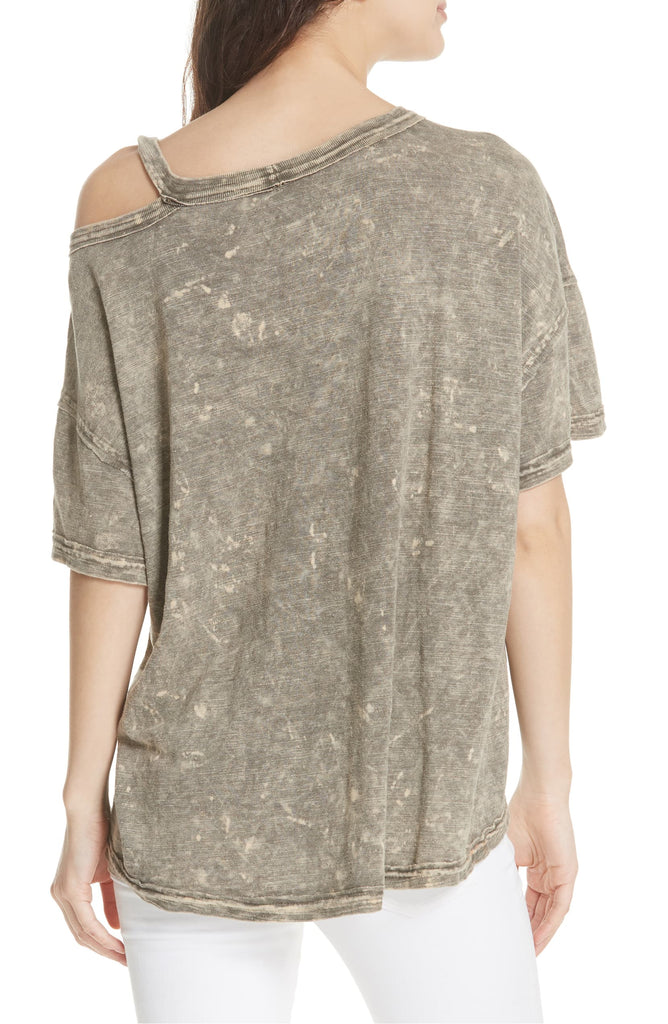 Yieldings Discount Clothing Store's Alex Tee by We The Free By Free People in Army