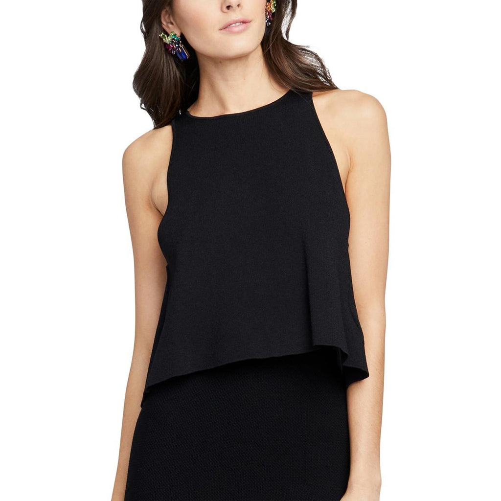RACHEL Rachel Roy | Split-Back Sweater Tank Top