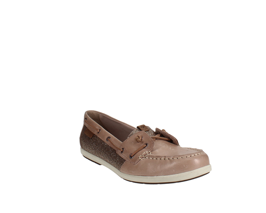 Yieldings Discount Shoes Store's Coil Ivy Boat Shoes by Sperry in Coil Ivy Rose