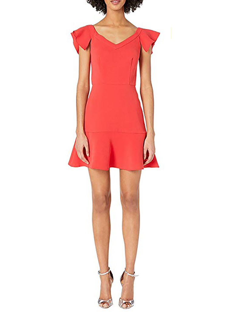 Yieldings Discount Clothing Store's Kennedy Dress by RACHEL Rachel Roy in Poppy Red