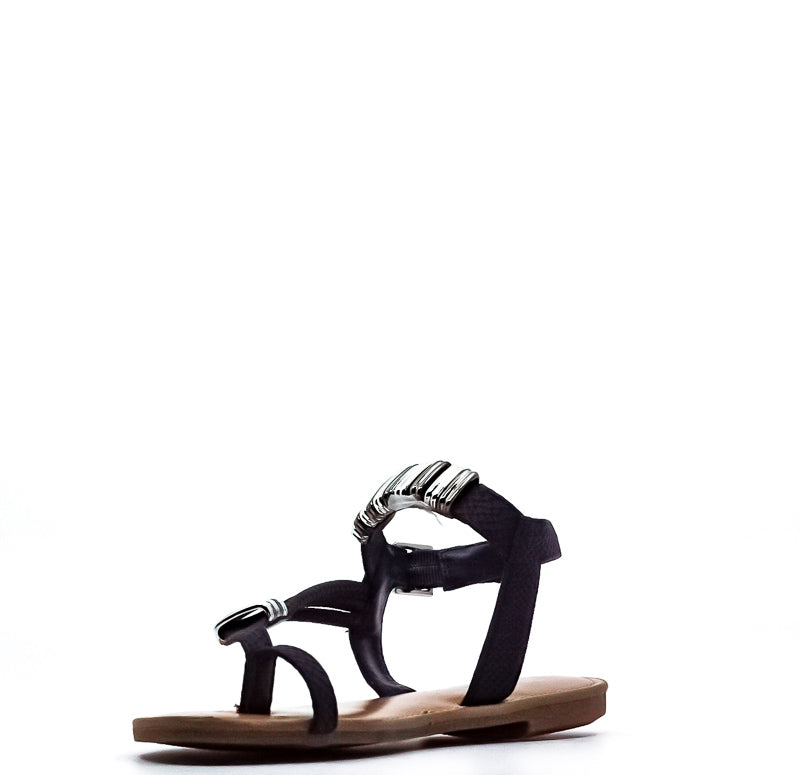 Yieldings Discount Shoes Store's Verap Flat Sandals by Bar III in Navy