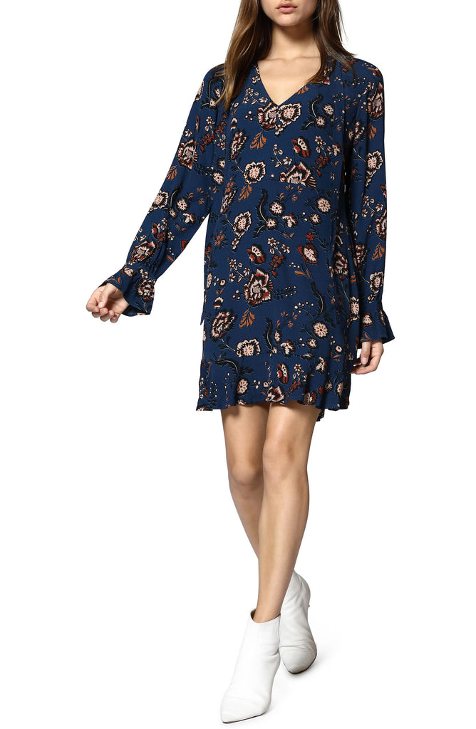 Sanctuary | Harvest Moon Floral Bell Sleeves Casual Dress
