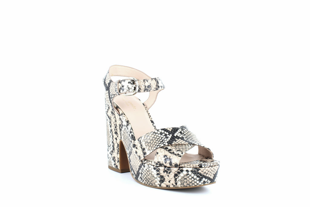 Yieldings Discount Shoes Store's Grace Platform Sandals by Kate Spade in Pale Vellum