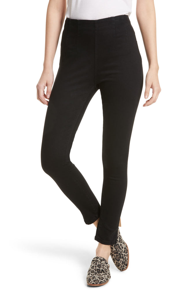 Free People | Ultra High Skinny Pull On Jeggings