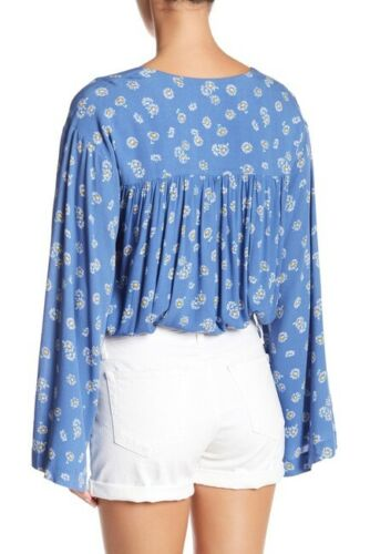 Yieldings Discount Clothing Store's Forties Feels Bodysuit by Free People in Blue Combo