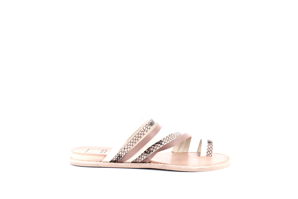 Yieldings Discount Shoes Store's Nelly Slide Sandals by Dolce Vita in White Multi