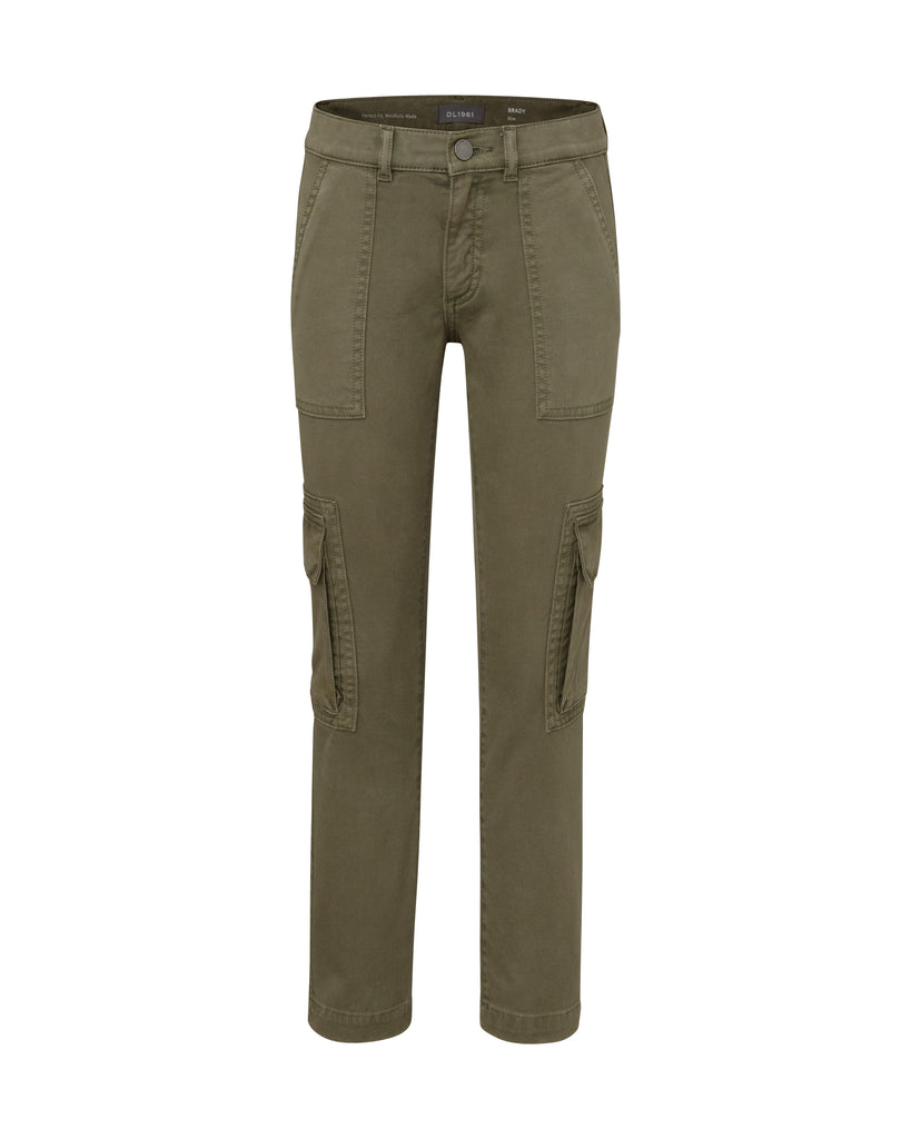 Yieldings Discount Clothing Store's Brady - Slim by DL1961 in Teddy Green