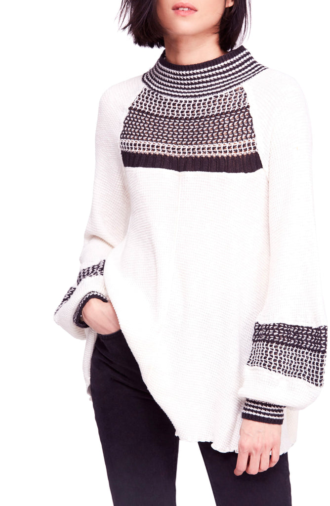 Yieldings Discount Clothing Store's Snow Day Thermal by Free People in White Combo