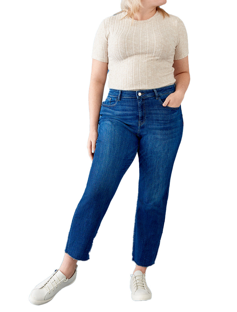 Warp+Weft | LFZ - High Rise Relaxed Straight Jeans