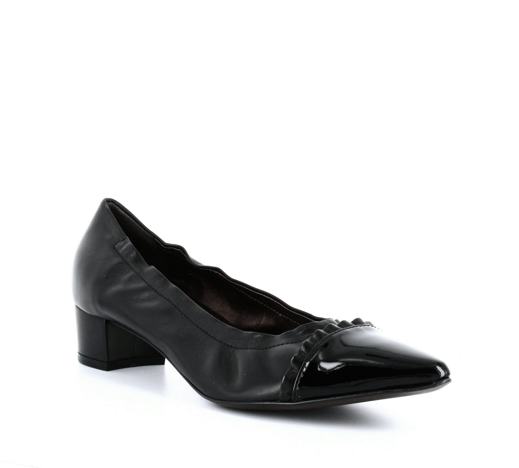 AGL | Ruffle Pointed Toe Pumps