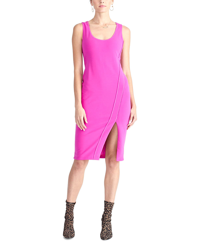RACHEL Rachel Roy | Contrast-Stitch Dress