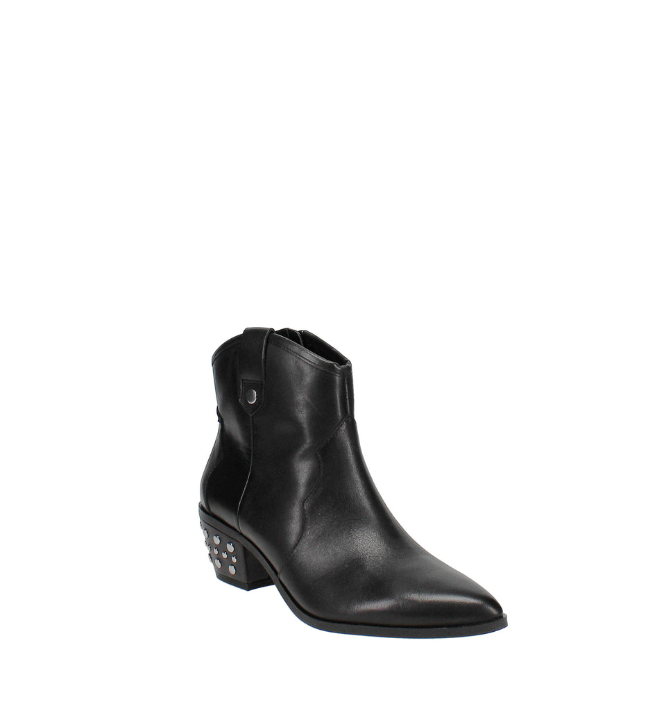 Yieldings Discount Shoes Store's Latisha Western Bootie by INC in Black